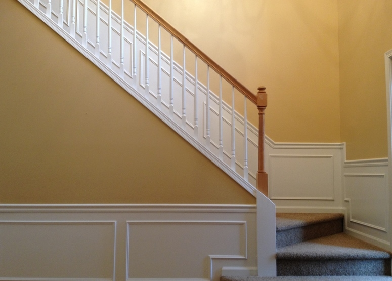 Foyer painting in Avon lake